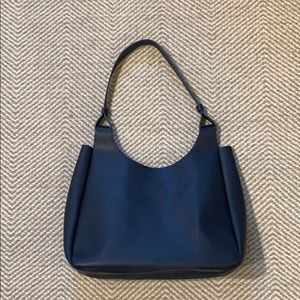 Neiman Marcus navy blue tote bag, never used!